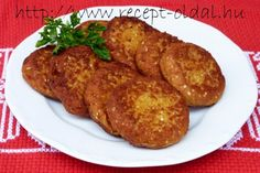 RÉPAFASÍRT Falafel, Paleo, Pork, Food And Drink, Vegan, Chicken, Recipes, Foods, Diet