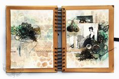 Journal Playground- art journal by Finnabair