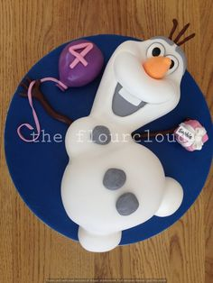 olaf cake Google Search Birthday Girl Pinterest Olaf cake