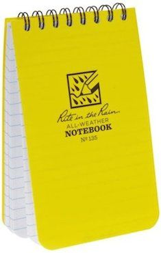 cce1e3709ac Rite in the Rain Waterproof paper notepad Outdoor Recreation