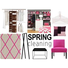 """Pink closet dream"" by sisustusheinia on Polyvore"