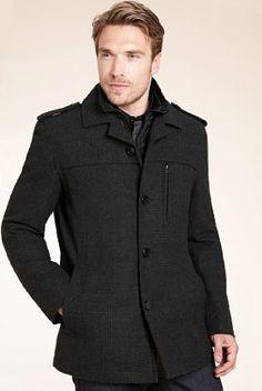 double collar jacket