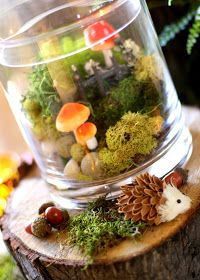 Bunches and Bits: Woodland Party Decorations