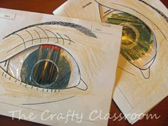 Human Body: eyes. neat ideas for teaching about sight, braille, eyes, etc