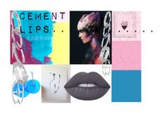 """""""Cement Lips......."""" by sgnprogram ❤ liked on Polyvore featuring Lime Crime and Kendra Scott"""