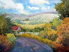 Joyce Hicks painting