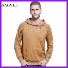 ASALI Solid Hoodies Men 2017 New Sweatshirt Male Hoody Hip Hop Autumn Winter Military Fleece Hoodie Mens US Plus Size Pullover