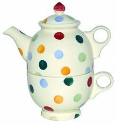 Tea For One Polka Dots