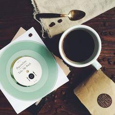 Coffee + vinyl pairings subscription service: recurring subscription via @ttablekitchen