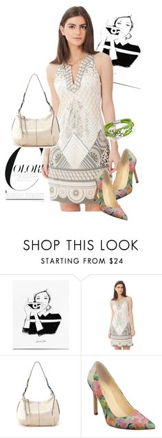 """""""dress"""" by masayuki4499 ❤ liked on Polyvore featuring Hale Bob, HOBO, Ivanka Trump and Bling Jewelry"""