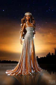 Refugio Rosa Reina Nayade Barbie Doll 2013