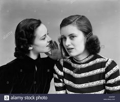 Women Gossiping Retro Stock Photos & Women Gossiping Retro Stock ...