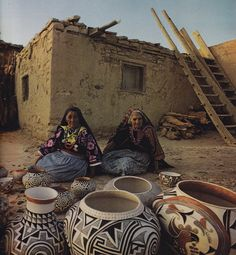 American Indian                                            Pueblo Pottery Makers