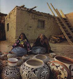 American Indian                                            Pueblo Pottery Makers