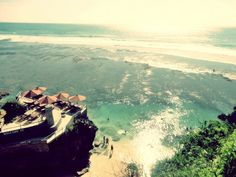 Suluban Beach From Top Suluban Beach a Secluded Beach Near Pura Uluwatu