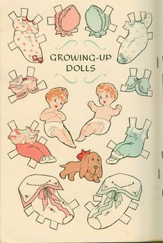 "Description Vintage April 1957 Jack and Jill Magazine for Boys and Girls with UNCUT paper dolls ""Growing Up Dolls"" Very good condition. Vintage Paper Dolls, Vintage Toys, Vintage Playmates, Paper Crafts Magazine, Paper Dolls Printable, Jack And Jill, Paper Toys, Beautiful Dolls, Doll Toys"