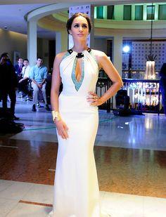 Fernanda Urrejola en la Gala del Festival de Viña del Mar 2014 #GalaViña2014