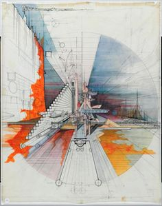 Collage Architecture, Architecture Drawing Sketchbooks, Architecture Graphics, Green Architecture, Architecture Portfolio, Concept Architecture, Architecture Design, Perspective Architecture, Ouvrages D'art