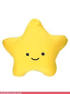 Mario Star cushion
