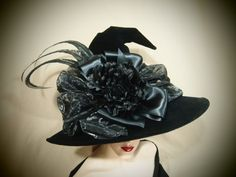 Witch Hat Classy and Sassy by EvercrumblyAndWitch on Etsy