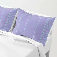 Stripes and Grids Pillow Sham