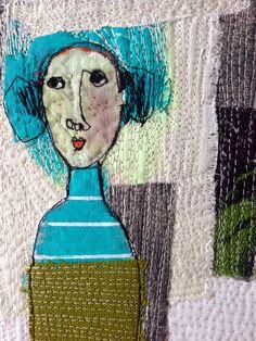 'The Patchwork Garden' (Detail) mrsbertimus.blogspot.com