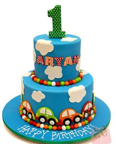"Related posts of ""Baby Boy First Birthday Cake Design"""