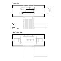 Lode architecture - Maison F - PLANS