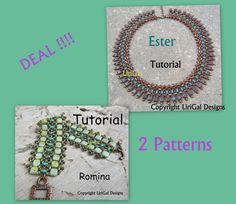 5c34256f73b3e Amanda SuperDuo and Hex Pyramid spike beads Beadwork Necklace PDF ...
