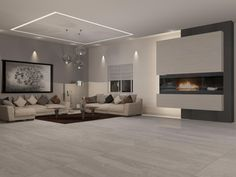 Beautiful and stylish modern living room interior ideas Living Room Wood Floor, Living Room Flooring, Living Room Modern, Living Room Interior, Home Living Room, Living Room Designs, Contemporary Interior Design, Modern Kitchen Design, Dream Home Design
