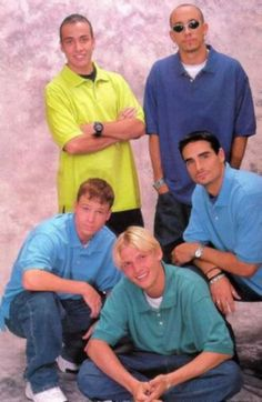 Backstreet boys back in the day