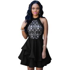 Newest Fashionable White/Black/Blue/Red Lace Party/Club Dress - M/L Sizes //Price: $38.84 & FREE Shipping //     #hashtag1