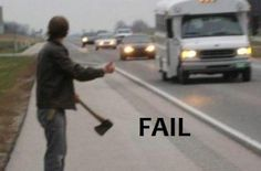 hitchhiker... fail