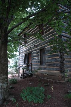 The ghost of Andrew Jackson is supposed to haunt their historic cabin, located in a public park. Jackson stayed in Jonesborough for a couple of months and after the cabin was moved from its original spot to the park, some say they've seen his ghost entering.