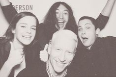 Perks of Being a Wallflower cast with Anderson Cooper