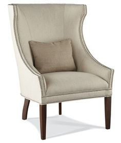 Hickory White - Fully Upholstered Chair  4860-01