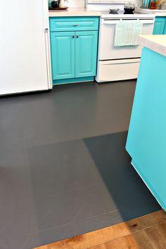 Exellent Painted Floor Tiles How To Paint A Vinyl Floor Diy Painted Floors Dans Le Lakehouse intended for [keyword