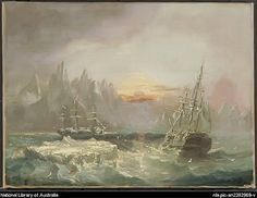 A 19th century artist's imagined representation of Sir John Franklin's lost ships, the Erebus and the Terror. (HARPER COLLECTION)   The 1845-46 vessels, the HMS Erebus and HMS Terror have been missing for more than 160 years, and this past August Prime Minister Stephen Harper announced a new Parks Canada project to continue the search for the lost vessels.