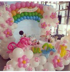 Decoración con globos / balloon decoration♥ on Pinterest