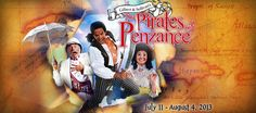 Pirates of Penzance at The 5th Avenue Theatre in Seattle - I get to see this next weekend, I can hardly wait!
