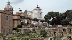 Forum of Julius Caesar in Rome