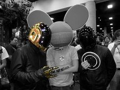 "Guys, you can't say ""I like ‎Deadmau5‏, but I hate ‎Daftpunk‏."" That's like saying ""I like Pepsi but I hate soda."""