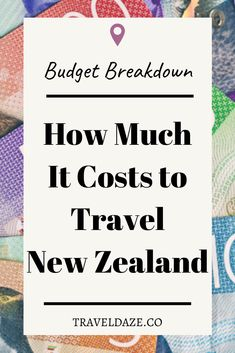 New Zealand is considered one of the more expensive countries to travel, but how much does it really cost? Here's a complete breakdown of my travel budget from my 1 year working holiday in New Zealand. I'm sharing average costs for different things, plus the exact amount I spent!