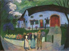 Marianne Werefkin, La famiglia 1922