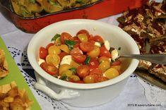 Bufet suedez - idei de preparate reci festive   Savori Urbane Prosciutto, Chana Masala, Fruit, Ethnic Recipes