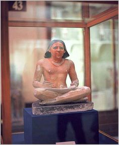 the EGYPTIAN writer's statu