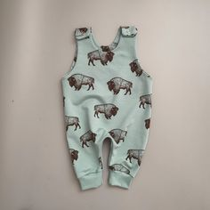 kids clothes, boys romper, baby overall, kids dungaree, boys clothing, baby first outfit, bisons Cool Baby Clothes, Kids Clothes Boys, Cool Baby Stuff, Kids Dungarees, Overalls, Baby First Outfit, Boy Outfits, Summer Outfits, Girls Rompers