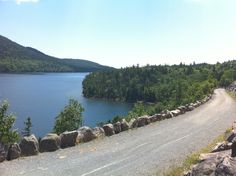 Acadia National Park - the carriage roads were terrific for a stroller, but would be fun by bike too. I loved the trek we did near Jordan Pond.