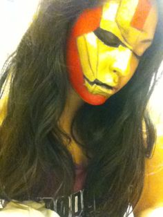 Iron man make up for Halloween. Inspired by promise phan aka dope2111 on YouTube.