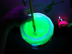 bloopy gloopy black light paint